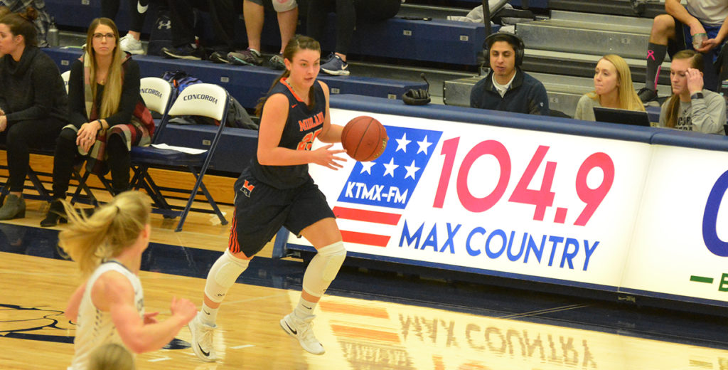 Lady Warriors Fall to No. 16 Hastings on the Road