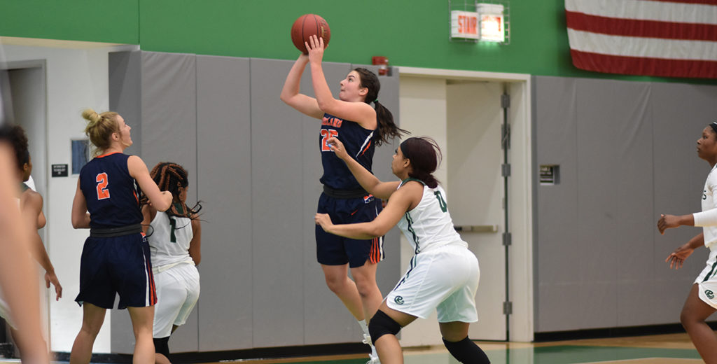 Lady Warriors Pickup Road Victory at Roosevelt