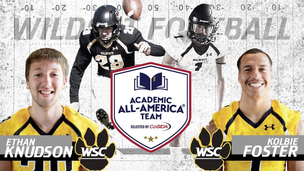 Knudson, Foster Earn Academic All-American Honors