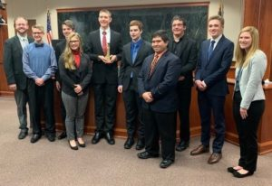 Blue Devil Mock Trial Team Places Fourth At State