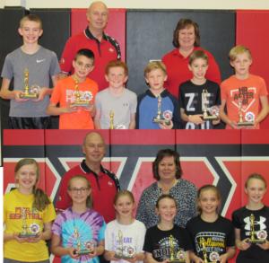 Results Of The Elks Club Hoop Shoot; Winners Advance To Kearney
