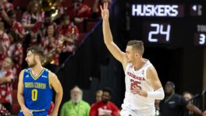 Huskers Fall to Badgers on the Road