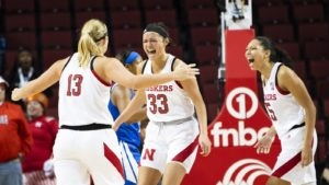 Lady Huskers Knock Off Penn State