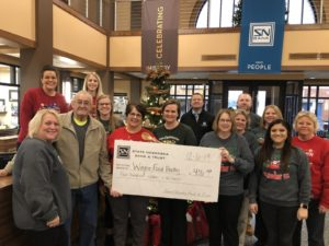 Food Pantry Receives $416 Donation Following SNB Employee Cook-Off