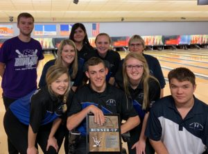 Wayne Unified Bowling Places Runner-Up