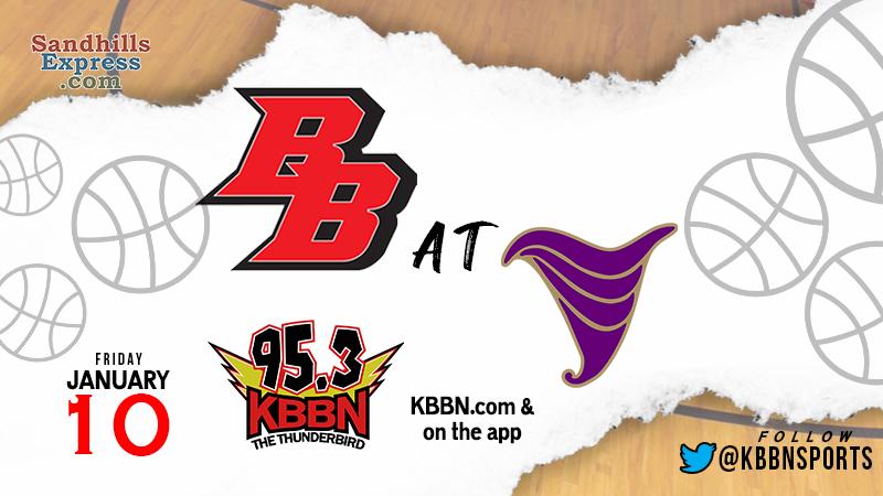 High School Basketball on KBBN – Broken Bow vs Holdrege