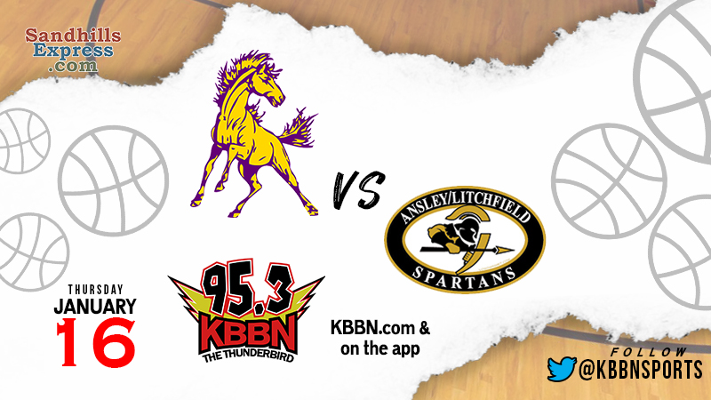 High School Basketball on KBBN – Ansley/Litchfield at SEM