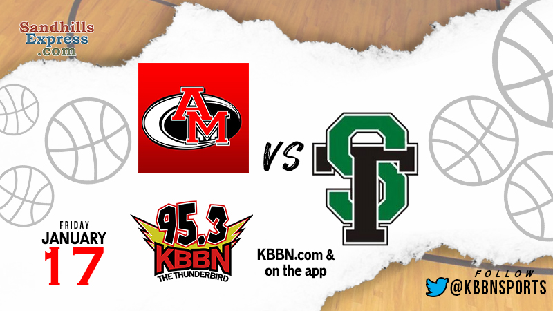 High School Basketball on KBBN POSTPONED – Anselmo-Merna vs Sandhills/Thedford