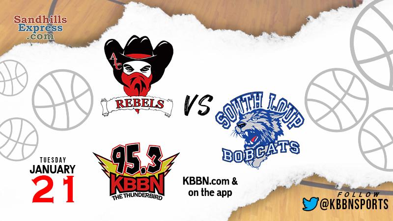 High School Basketball on KBBN – South Loup vs Arcadia/Loup City