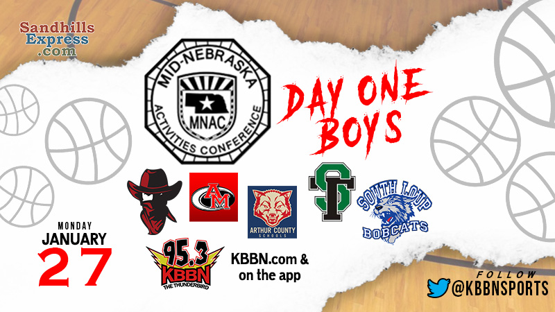 MNAC Boys Basketball Tournament Continues Monday – Coverage on KBBN
