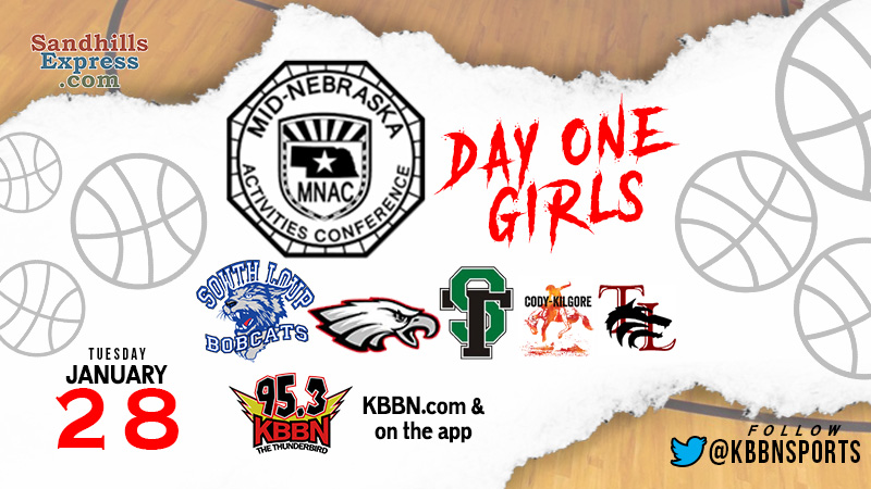 MNAC Tournament Boys Quarterfinal Results – Girls Second Round Games Tuesday – Coverage on KBBN