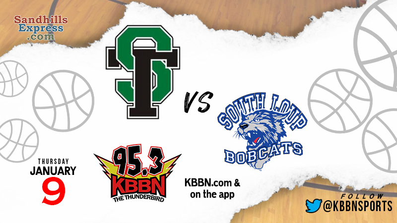 High School Basketball on KBBN – South Loup vs Sandhills/Thedford