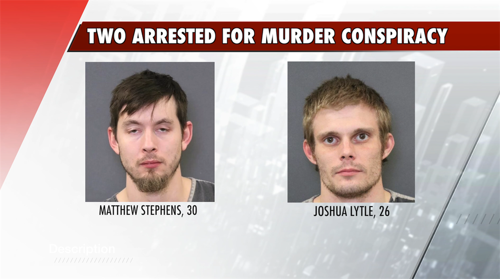 Two Arrested for Conspiracy to Commit Murder