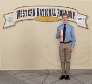 Dawson County 4-H'er Greg Treffer Represents Nebraska At Western National Roundup