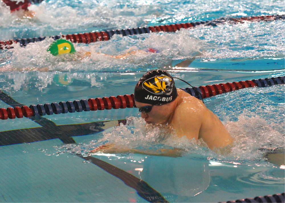 Tiger Swimmers Perform at Lincoln North Star Dual