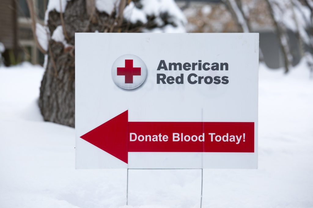 American Red Cross, NFL Teaming Together To Help Replenish Post-Holiday Blood Supply