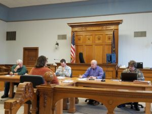 Tradewind Energy Provides Presentation Of Haystack Wind Project, One Of Two Tabled Courthouse Restoration Items Approved