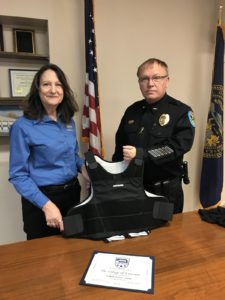 Emerson Police Department Receives Bulletproof Vest