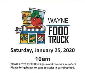 Food Truck Makes January Stop In Wayne Saturday