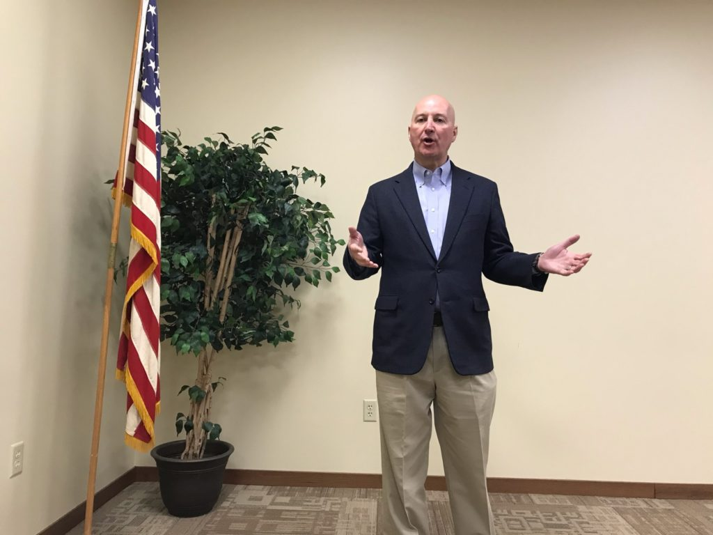 Gov. Ricketts Discusses Child Welfare and Tax Relief During Town Hall