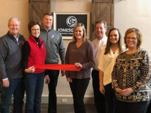 Jones Group's Ansley Branch Cuts Ribbon To Officially Join As Broken Bow Chamber Member
