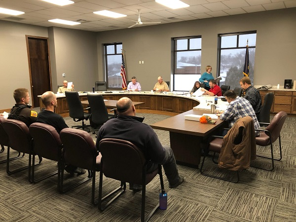 Supervisors Talk Anselmo Crossing And Sheriff's Office K-9 During Tuesday's Meeting