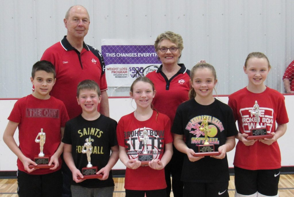 Area Competitors Perform Well at Elks Hoop Shoot