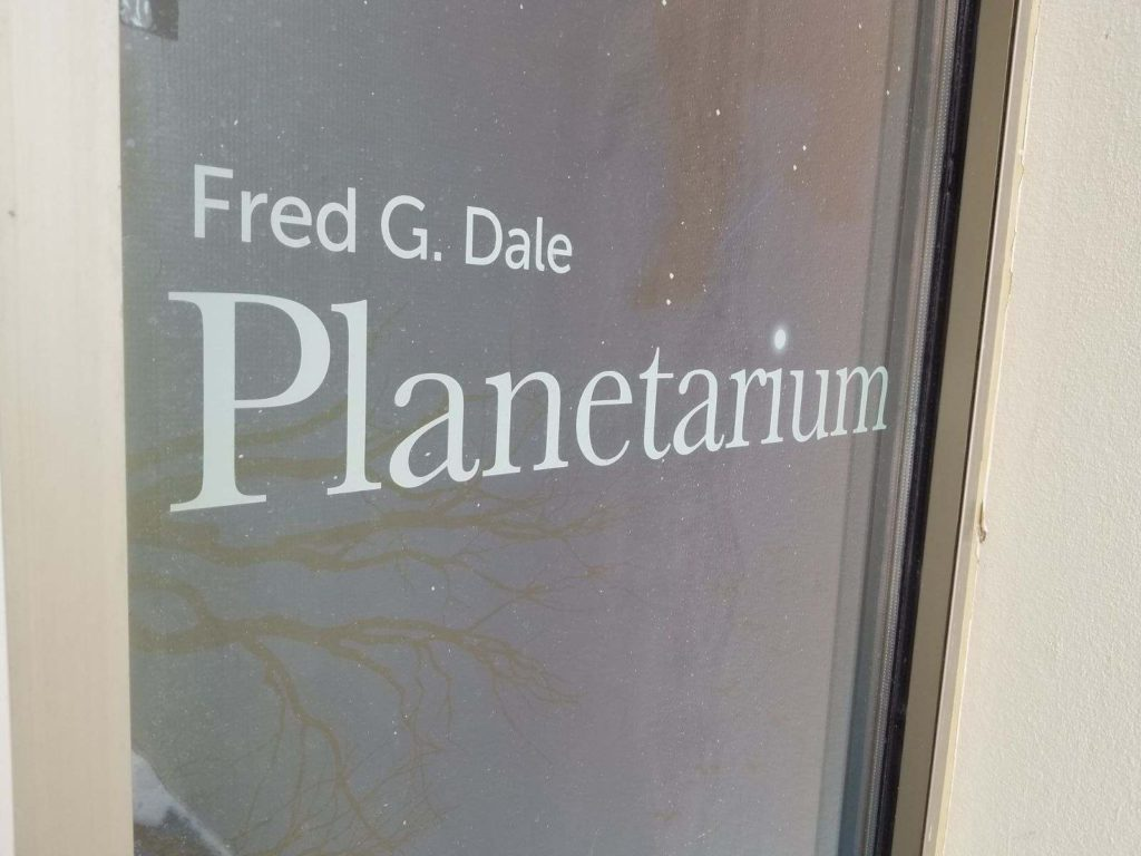 WSC Fred G. Dale Planetarium To Offer Educational Shows From Home; Next Show Is 'Dinosaurs At Dusk'
