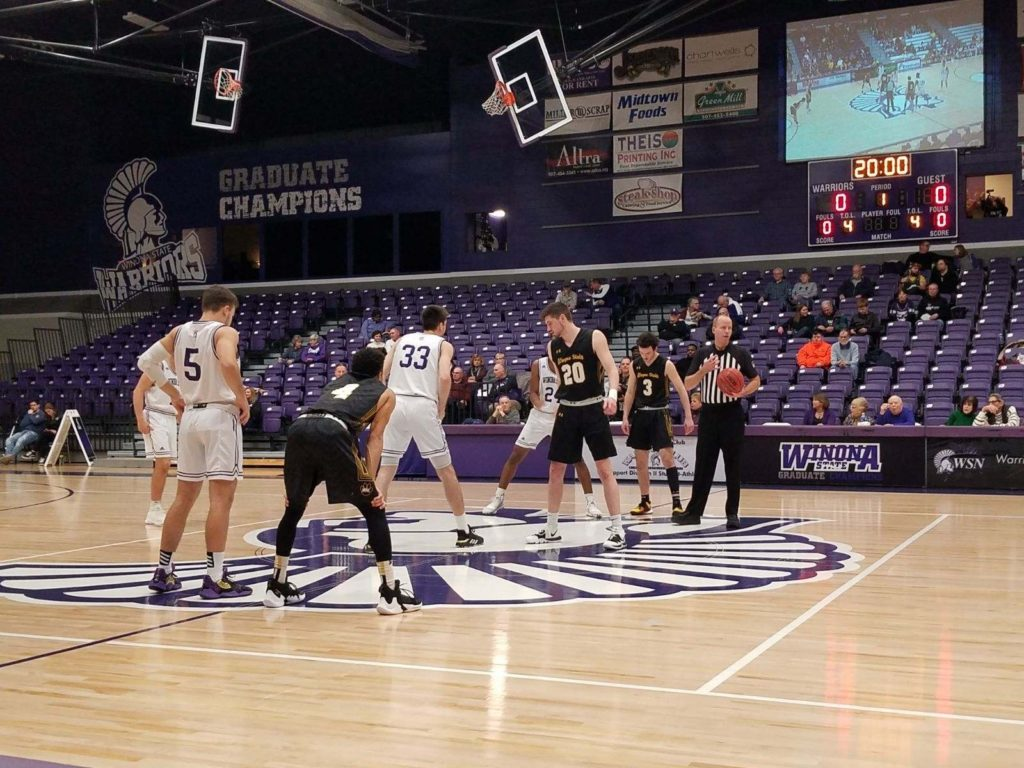 Winona State Women Sweep Series With WSC, Wayne State Men Outlast Warriors In Triple Overtime Thriller
