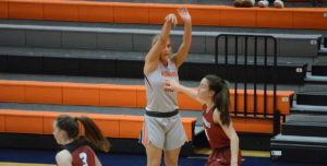 Jamestown Lead Too Much To Overcome For Lady Warriors