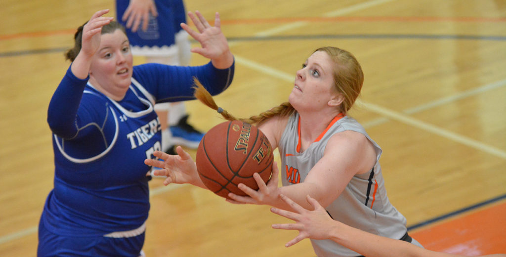 Lady Warriors End Skid with Win over Flames