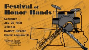 Festival Of Honor Bands Concert Slated For January 25 At WSC