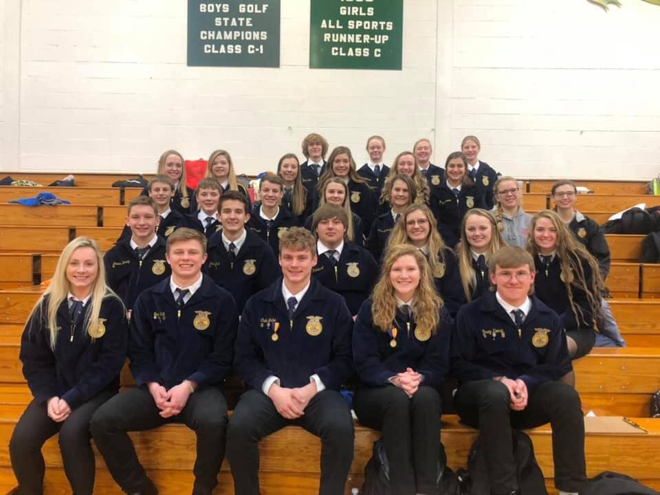 Wayne FFA Results From Leadership Development Event Competitions
