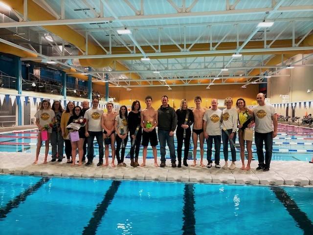 Swim: Boys Take Win on Senior Night
