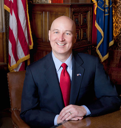 Gov. Ricketts Honoring Fire Department Flood Heroes