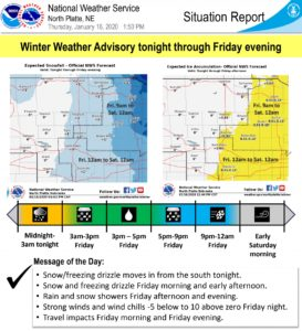 Winter weather expected Thursday night through Friday night