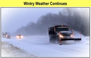 Winter Weather Advisory Renewed for Wednesday Night & Thursday