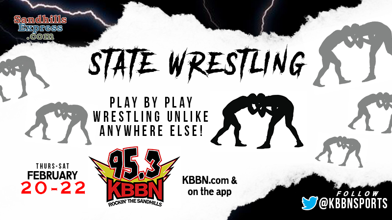 NSAA State Wrestling Championships Begin – Full Tournament Coverage on KBBN