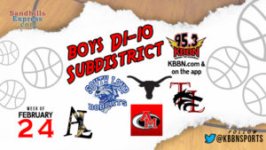 Area Sub District Basketball Results 2/25