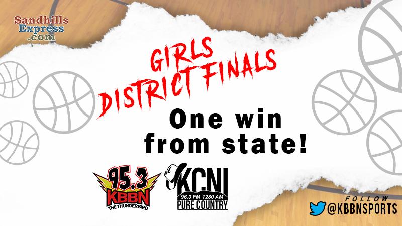 Girls District Finals Set for Next Friday