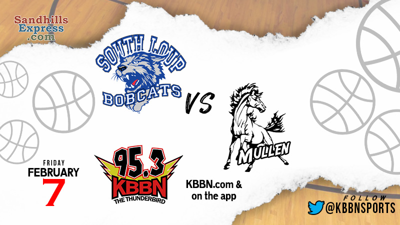 High School Basketball – Mullen at South Loup on KBBN
