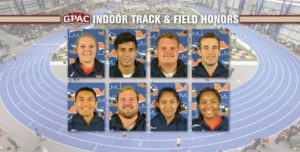 Midland Lands Eight on All-GPAC Indoor Teams