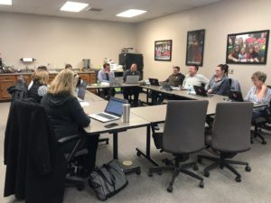 BB School Board Discusses Preschool Applicants and PLC Conference