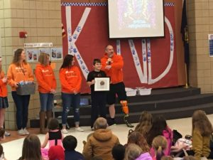The Blade 5K Surprises Bell Field Elementary Student