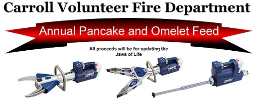 Pancake, Omelet Feed To Raise Money For Jaws Of Life Equipment
