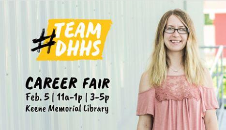 DHHS Career Fair – Wednesday, February 5th!