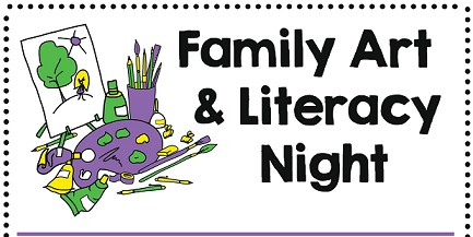 Family Art And Literacy Night Scheduled For Tuesday