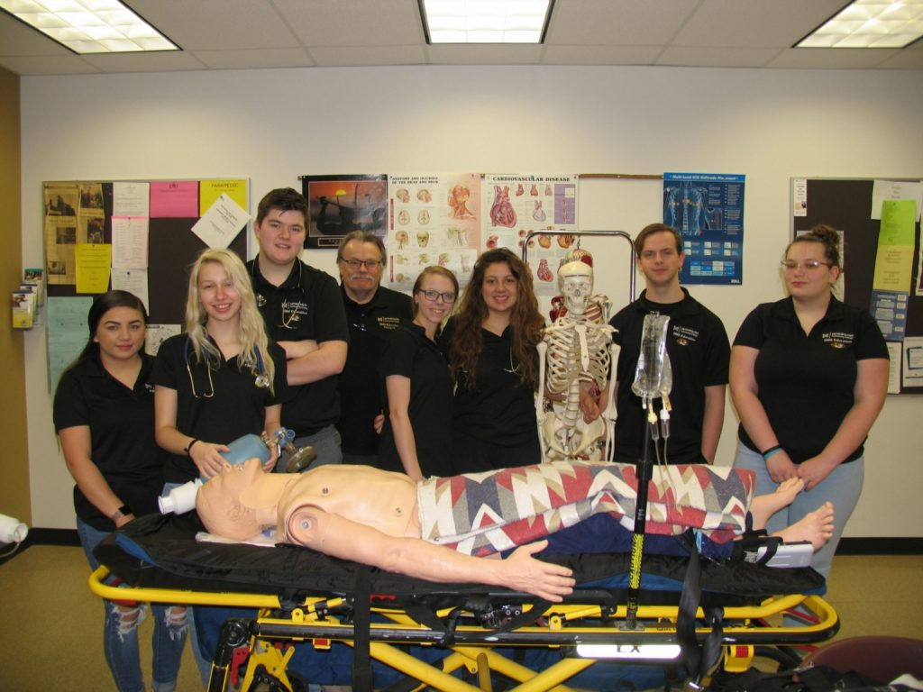 FHS Students Take Metro EMT Classes