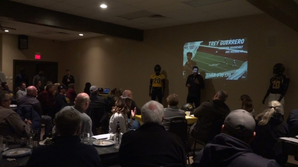 Community Members Hear More About NSD Wildcat Football Class