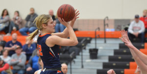 Lady Warriors' Season Ends with Loss in GPAC Quarterfinals